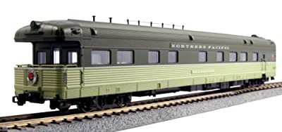 Kato USA Model Train Products Northern Pacific Yellowstone Bud Business Car from Kato Trains