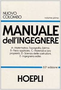 Manuale Dellingegnere Nuovo Colombo Pdf