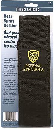 Defense Aerosols Bear Spray Belt Holster, Fits 225g and 325g, Nylon