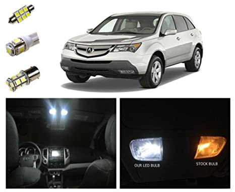 Amazoncom Acura MDX LED Package Interior Tag Reverse - Acura mdx led fog lights