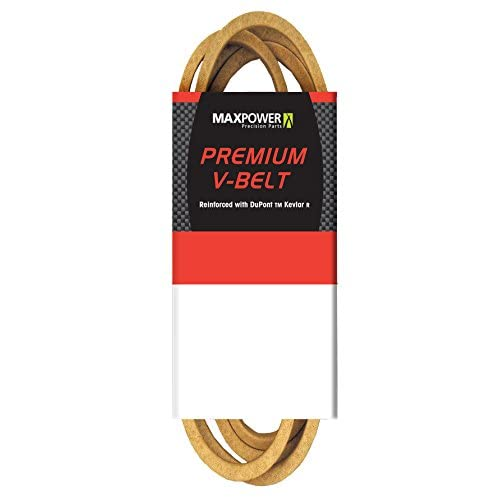 "Maxpower 347650 Premium Belt Reinforced with Kevlar Fiber Cords, 5/8"" x 105"""