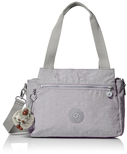 Kipling Elysia Tonal Handbag, Slate Grey T