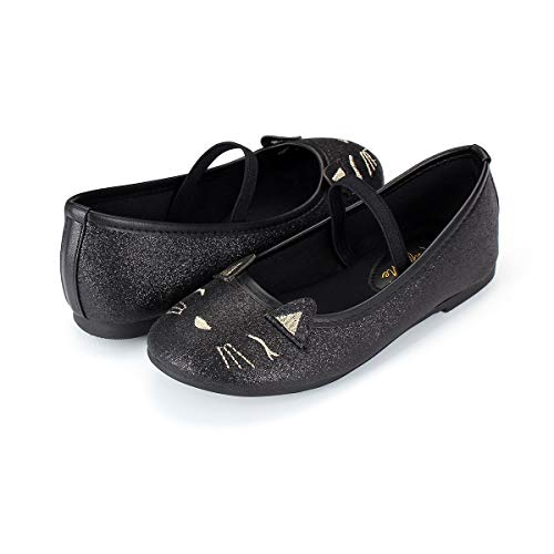KomForme BFSC-9 M Baby Girls Marry Jane 3D Flat Shoes Non-Slip Soft Soled Ballet Walking Shoes