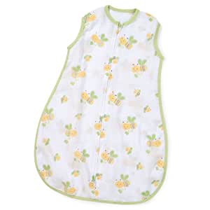 Summer Infant Swaddleme Muslin Sack, Busy Bees