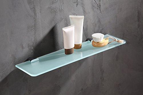 19.69'' Glass Shelf - Polished Chrome - Essence Series AC-AZ050 - ANZZI by ANZZI (Image #2)