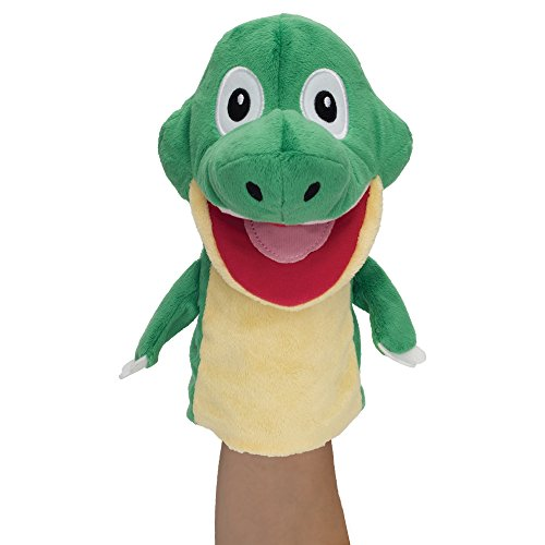 Baby Genius Talking DJ Interactive Hand Puppet with Electronic Sounds by Manhattan Toy (Hand Talking Puppet)