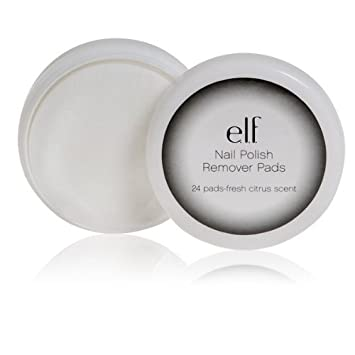 Amazon.com : e.l.f. Nail Polish Remover Pads, 24 Count : Nail ...