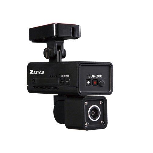車内撮影2カメラ式ドライブレコーダーS-CREW「ISDR-200」 ISDR-200 B07BWBSX7Q