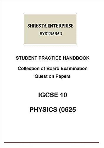Buy Student Practice Handbook IGCSE Class 10 PHYSICS (0625