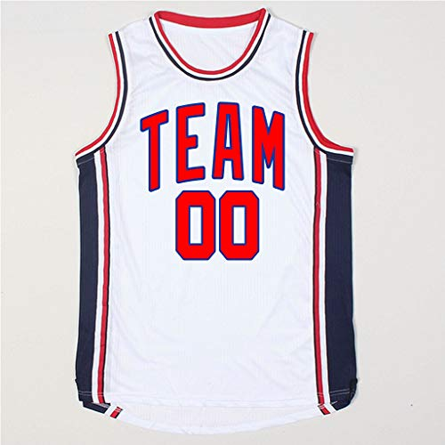 yicana Custom Your Own Camiseta de Baloncesto Personalizada ...