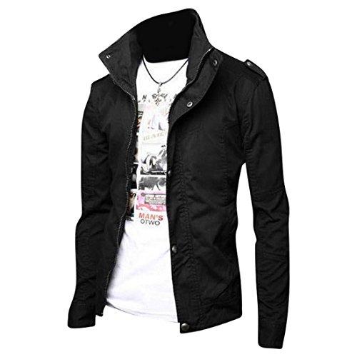 Inverno Black Sottile Jeansian 8963 Uomo Capispalla Tendenza Moda Giacca Di Cappotti Cappotto Design Pelle Uomini ZZqgPIw6fx