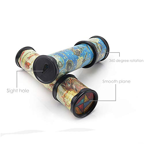 DLOnline 4PCS Old World Kaleidoscope, Magic Classic Toy for Children by DLOnline (Image #2)