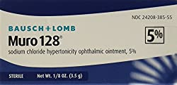 Bausch & Lomb Muro 128 5 Percent Ointment, 3.5 Gm (Pack Of 1)