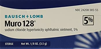 Bausch & Lomb Muro 128 5 Percent Ointment, 3.5 Gm (Pack Of 1) 0