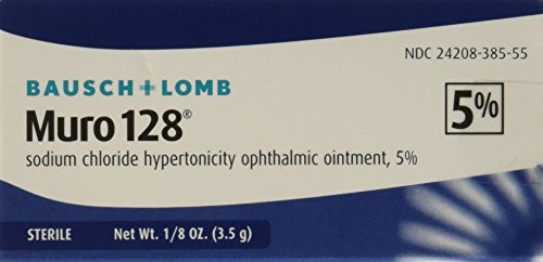 Bausch and Lomb Muro 128 5 Percent Ointment, 3.5 gm (Pack of 1) ()