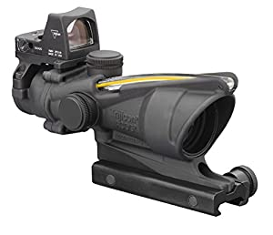 Trijicon 4x32mm ACOG Dual Illumination Green Crosshair Reticle