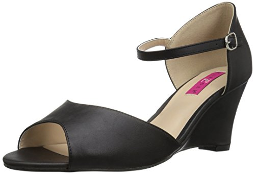 Faux Label Col Scarpe 05 Nero Bpu Tacco Leather Pink Donna blk Kimberly Pleaser wOqxv1nC