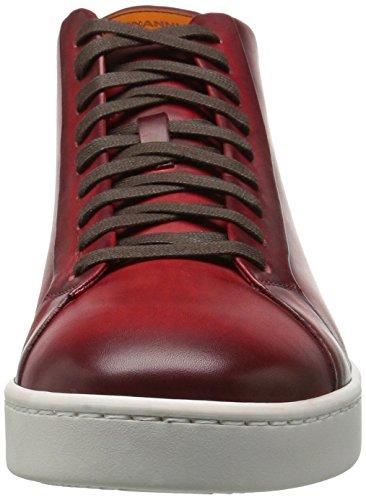 Magnanni Mens Caden Mode Sneaker Rouge