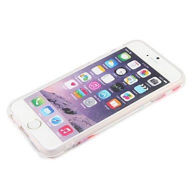 Fundas y estuches para teléfonos móviles, Caso para el iphone 7 más la cubierta del iphone 7 imd la caja de la contraportada palabra / frase la fruta suave tpu para el iphone de la ( Modelos Compatibl IPhone 7 Plus