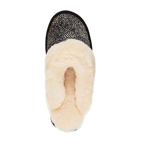 Emu  Jolie Damen Hausschuhe W11363 Spot a Pois  Emu schwarz Schuhe liv ... 6081f0
