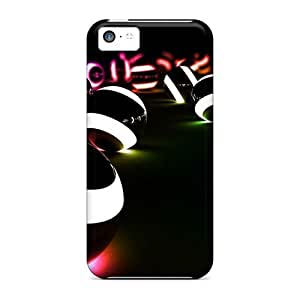 For Iphone 5c Tpu Phone Case Cover(spheres)