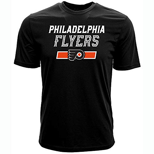 - Levelwear NHL Philadelphia Flyers James Van Riemsdyk Mens Undisputed Name & Number Richmond Tee, Black, Large