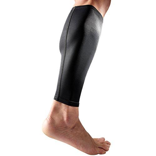 McDavid 6577 True Compression Calf Sleeve (Black, Medium) by McDavid