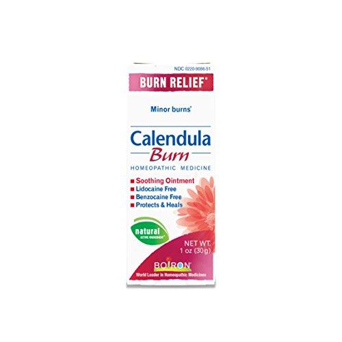 Boiron Calendula Burn, 1 Ounce, Homeopathic Medicine for Burn (Calendula Ointment Tube)