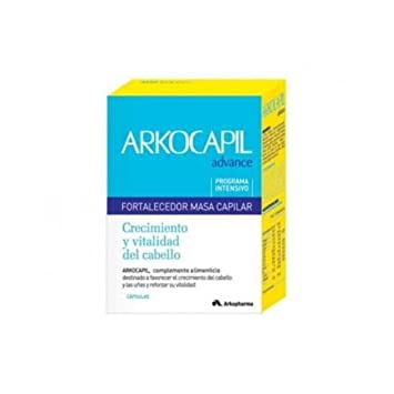 Arkocapil Advance 120 Capsulas Capilar Anticaida Anti Hair Loss