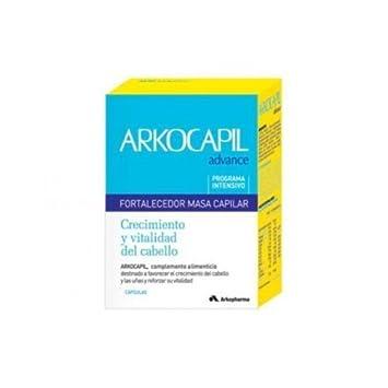 Arkocapil Advance 120 Capsulas Capilar Anticaida Anti Hair Loss