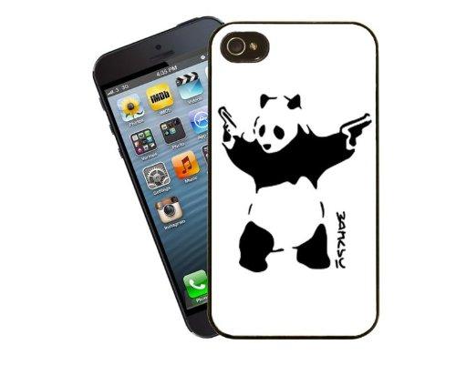 Banksy Panda Gangsta Telefon Fall, design 9–für Apple iPhone 5/5S–Cover von Eclipse Geschenk Ideen