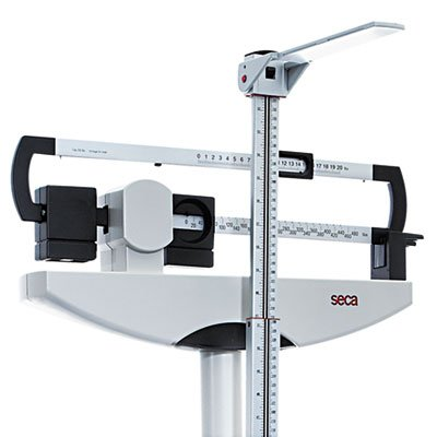 MEDLINE INDUSTRIES, INC. * Medline Classic Mechanical Beam Scale, 500lb Capacity, 13-3/4 x 14-1/4 Platform, Sold as 1 Each by Medline