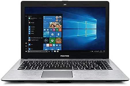 "Notebook Positivo Stilo XC8660 Intel Core i5 Windows 10 Home 1tb 4gb tela de 14"""