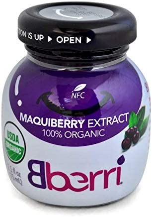 Amazon Com Bberri Extract Maqui Berry 100 Organic Pack Of 6 X