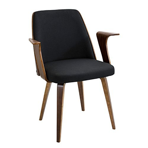 WOYBR CH-VRDNA WL+BK Wood, Polyester Fabric, Foam Verdana Chair Review