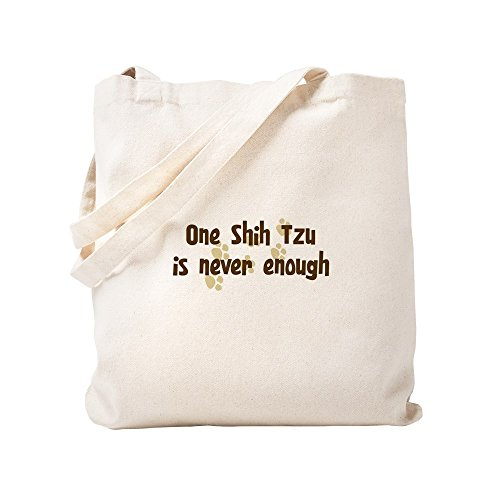 Never Shih Cafepress Bolsa Tzu Caqui Small Lona Enough dOOScW1nZR