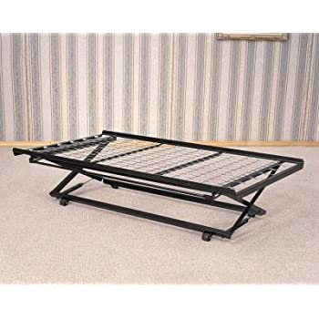 coaster daybed pop up trundle frame and rail twin