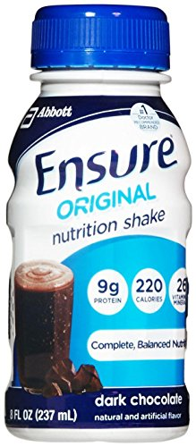 Ensure Original Nutrition Shake Dark Chocolate – 6 CT For Sale