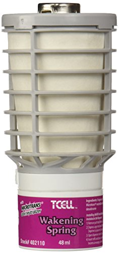 Rubbermaid Commercial Products Tcell Air Freshener Refill, Wakening Spring, FG402110