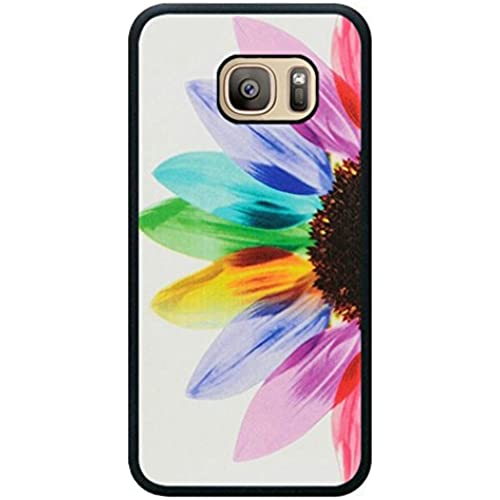 Minffc Unique With Beautiful Colorful Sunflower Art Design Protective Case Cover For Samsung Galaxy S7 Sales