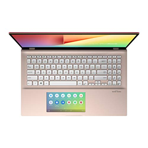 ASUS VivoBook S15 S532FL-BQ703T Intel Core i7 10th Gen 15.6-inch FHD Thin & Light Laptop (8GB RAM/512GB PCIe SSD/Windows 10/2GB NVIDIA NVIDIA GeForce MX250 Graphics/1.8 Kg), Punk Pink