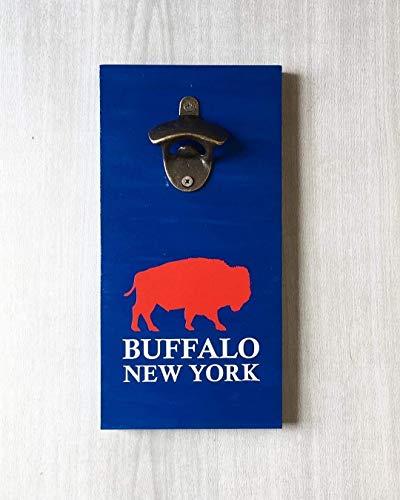 - Buffalo New York Beer Bottle Opener by LEADING EDGE DESIGNS   Buffalo Bar Sign/Buffalo NY Bar/Love Buffalo Sign/Buffalo Home Sign/Buffalo Home Decor/Buffalo Bison/Buffalo Silhouette
