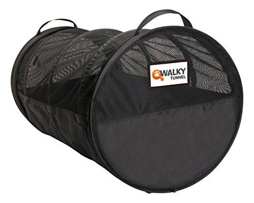 dobar 62400 Walky Tunnel – Riesige -Transportbox für Haustiere im Auto, Faltbare Luxus-Transporttasche für mehrere Hunde…