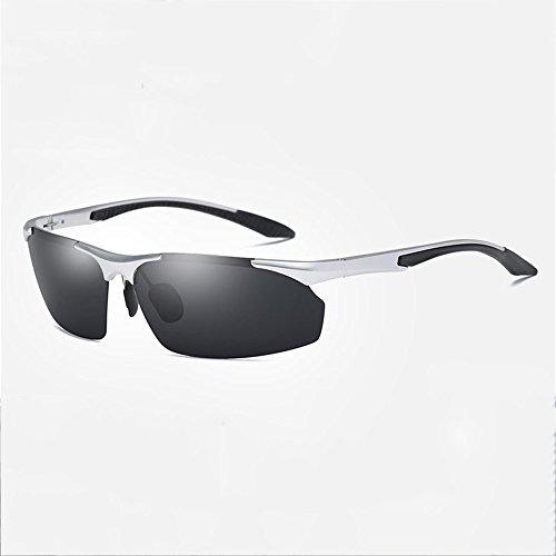 De Libre Polarizadas De Nuevos De Magnesio Sol Gafas Del Hombres Del Deportes Los Gafas Montar ConduccióN Aluminio Al Silver Aire Gafas De Los De Pesca De Sol qCp4z