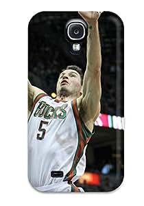Larry B. Hornback's Shop 2907733K574457286 milwaukee bucks nba basketball (22) NBA Sports & Colleges colorful Samsung Galaxy S4 cases