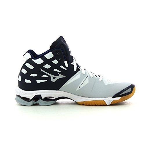 Mizuno - Zapatillas de voleibol para hombre multicolor White/Grey/Black