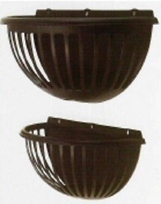 Tudor style wall planter / manger. Two sizes. Wall basket planter[Medium 45cm wide] Perfect Plants