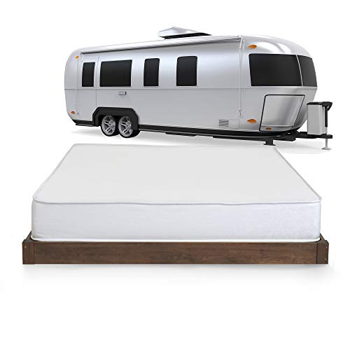Camper Full (Serenia Sleep 8-Inch Memory Foam RV Mattress, Short Full)