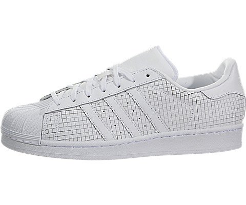 adidas Men's Superstar Originals White Leather Casual Shoes - Casual Shoe Original