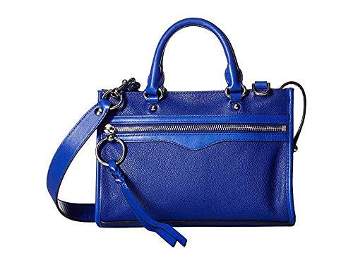 Rebecca Minkoff Women's Micro Bedford Zip Satchel Bright Blue One Size